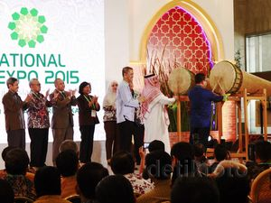 Pembukaan International Islamic Expo 2015