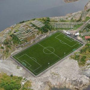Inikah Lapangan Bola Terindah di Dunia?