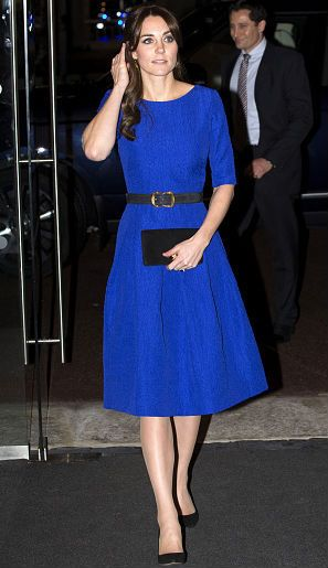 Penampilan Kate Middleton dengan Gaun Rp 11 Jutaan, Rancangan Desainer India