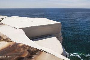 Tebing Batu di Australia Tampak Seperti Kue Pernikahan