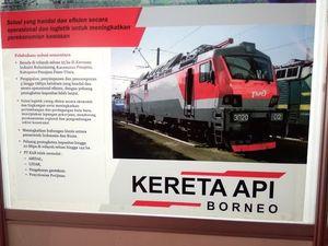 Ini Kata Jonan Soal Proyek KA Borneo