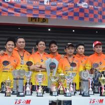 ABM Motorsport Rajai ISSOM Lewat 118 Piala dan 8 Gelar Juara Umum
