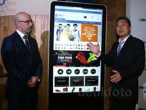 NBA Luncurkan Toko Online di Indonesia