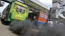 Penduduk Beberapa Kota Asia Bertarung dengan Polusi