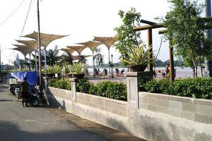 Payung Peneduh ala Masjid Nabawi di Sekayu Waterfront