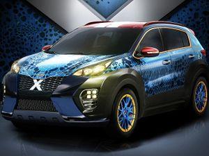 Kia Kenalkan Sportage Versi Film X-Men