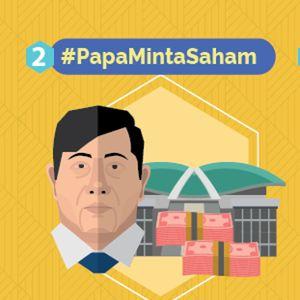 Kegaduhan Netizen 2015: Tarif Data Sampai #PapaMintaSaham