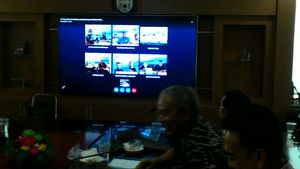 Bahas Techno Park Garam, Bupati Brebes Video Conference dengan KKP