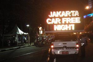 Car Free Night, Patung Kuda dan Monas Penuh Wisatawan