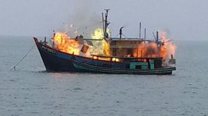 12 Kapal Pencuri Ikan Antre Ditenggelamkan Bulan Ini