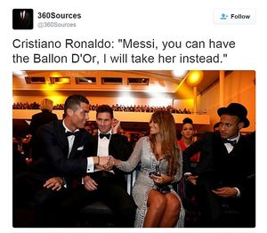 Meme Ballon d'Or: Insiden Miss Universe & CR7 Lirik Istri Messi