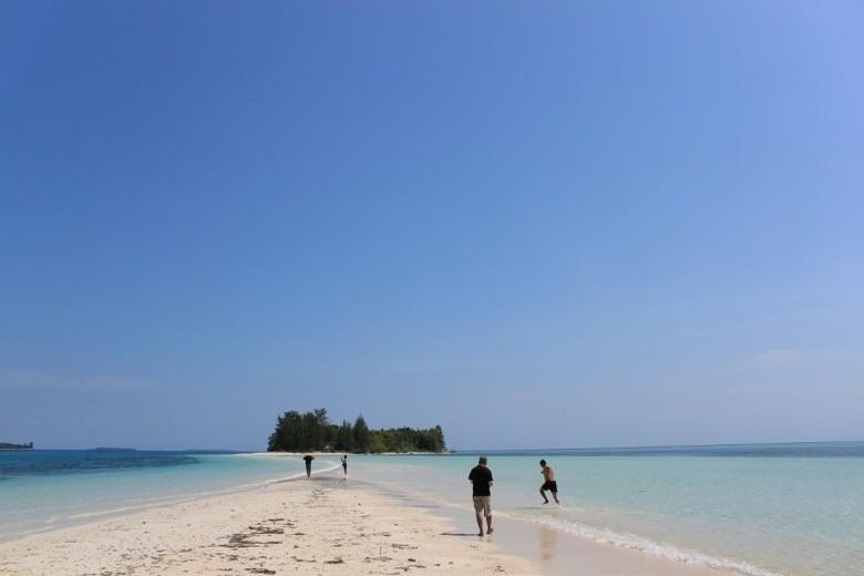 Pulau Dodola di Morotai (Moksa/detikTravel)