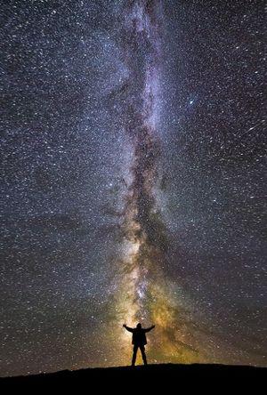 Potret Spektakuler Galaksi Bima Sakti dari Bumi