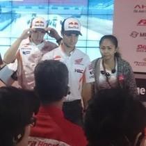 Valentine ala Honda dengan Marquez dan Pedrosa di Sentul