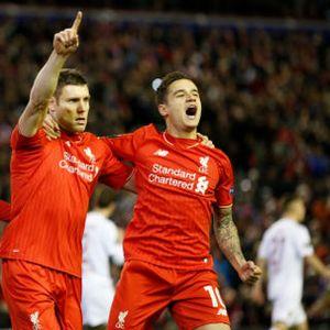 Penalti Milner Loloskan Liverpool ke 16 Besar