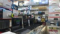 Ekonomi Lesu, Barang Elektronik di Glodok Sepi Pembeli