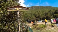 Pondok Saladah, lokasi camp untuk pendaki.