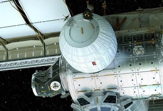 Modul ini akan ditempel ke stasiun luar angkasa (@bigelowspace/Instagram)