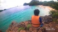 Pantai 3 Warna dari ketinggian