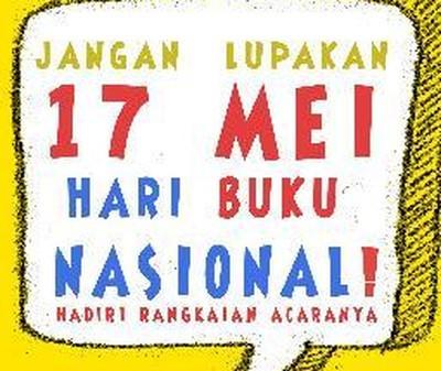 Diskon dan Teror di Hari Buku Nasional