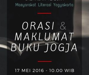 Maklumat dari Jogja untuk Tragedi Perbukuan Indonesia