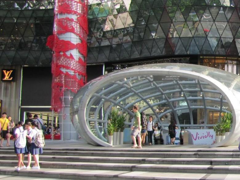 Orchard Road, kawasan belanja terfavorit di Singapura (Faya/detikTravel)