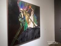 Salah satu lukisan di Artjog 2016