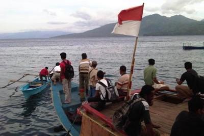 Menikmati Perjalanan Kapal dari Ternate ke Halmahera