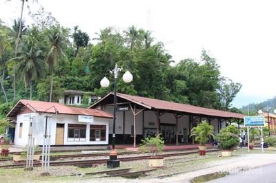 Tahun Baru di Sawahlunto, Ada Museum Kereta Api