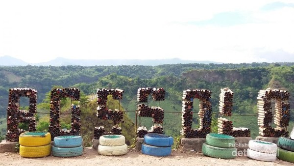Tulisan unik Bukit Bossolo