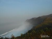 Pemandangan dari Lokasi Parkir Kedung Tumpang