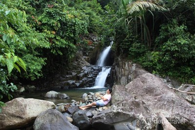 Yang Belum Kamu Tahu di Padang, Air Terjun Dua Tingkat