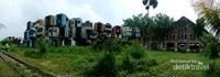 Dipo kereta api Purwakarta yang sdh tidak beroperasi lagi