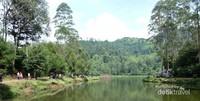 Situ Cisanti, merupakan sebuah danau atau dalam bahasa Sunda disebut Situ, berada di dataran tinggi Kab. Bandung Jawa Barat  (Santi Gantini/Detik travel)