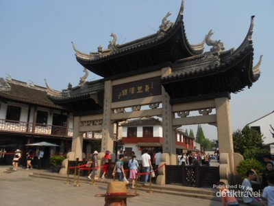Zhujiajiao, Kota Venesia Versi China yang Keren