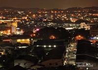 Rasanya betah memandan kerlap kerlip lampu kota Batam