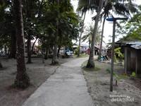 jalanan Pulau Popoongan