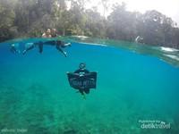Has been here.4 Kali sejak 2012 hingga 2016 masih terpesona dengan keindahan Danau Labuan Cermin.
