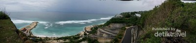 Sudut Cantik Pantai Melasti di Bali