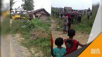 PT LNK Gusur Rumah Petani Mekar Jaya di Lahan Sengketa