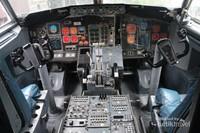 Bagian kokpit pilotnya masih ada