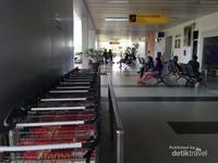 Fasilitas Bandara sudah cukup memadai dengan cukup nyaman