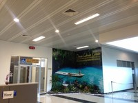 Salah satu Sudut Bandara Kalimarau
