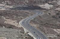 Jalanan Taif yang sangat Indah