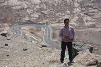 Tampak jalanan Taif yang sangat Indah