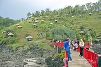 Tanjung Karang Bata dari sisi jembatan