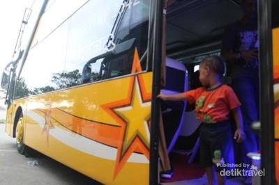 Mudik ke Aceh, Mesti Coba Naik Bus Double Decker Keren Ini