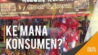 Pedagang Mainan di Pasar Gembrong Mengeluh Lesu