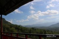 Pemandangan dari menara pandang