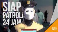 Canggih! Ada Robocop di Kepolisian Dubai